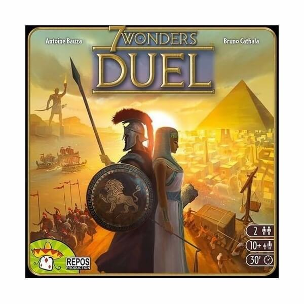 box of 7 wonders duel best boards games for couples night game