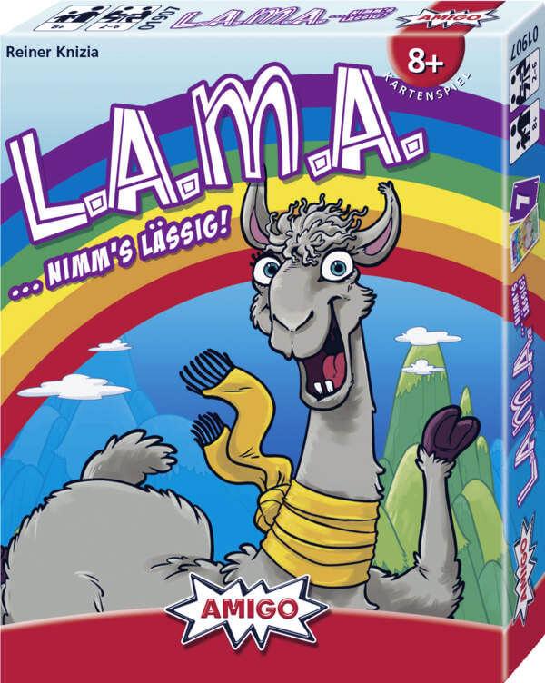 Spiel des Jahres 2019 nominee box of lama