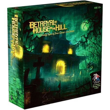 box of Betrayal at House on the Hill, one of the 6 best horror board games