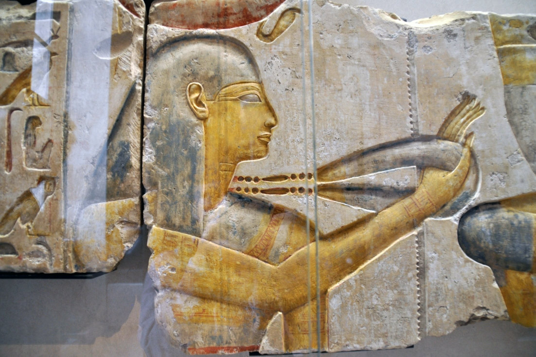 ancient wall painting from Egypt