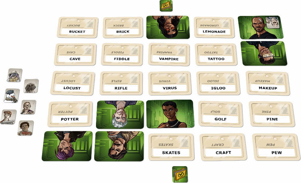 cards of codenames duet