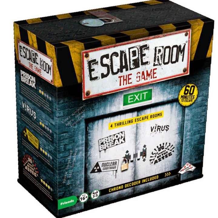 the box of escape room the game
