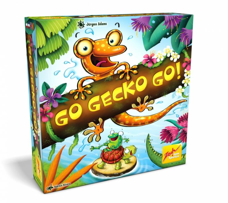box of go gecko go nominee of Kinderspiel des jahres 2019