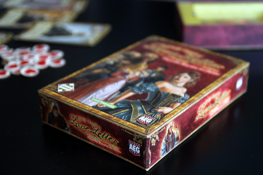 box of the board game love letter