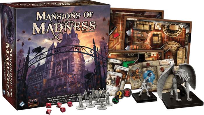 box of mansions of madness, one of the 6 best horror board games