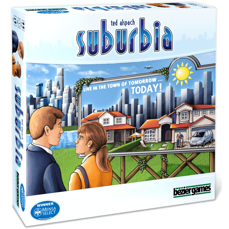 suburbia box best board games for one player