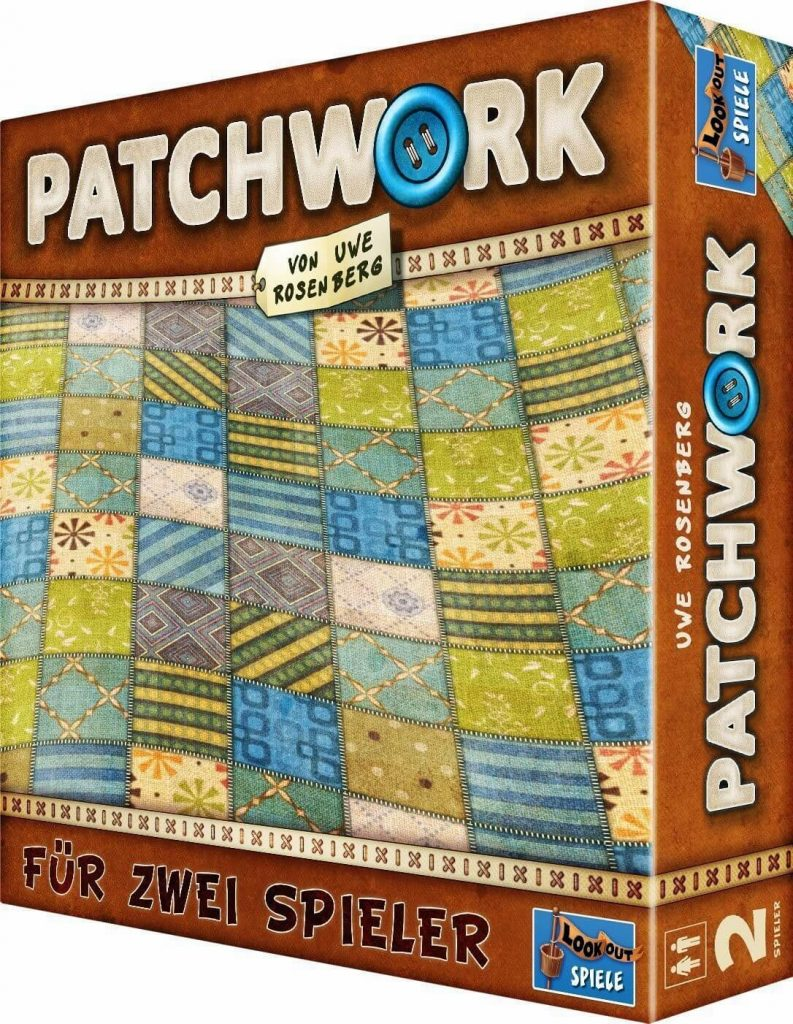 patchwork best board games for couples date night