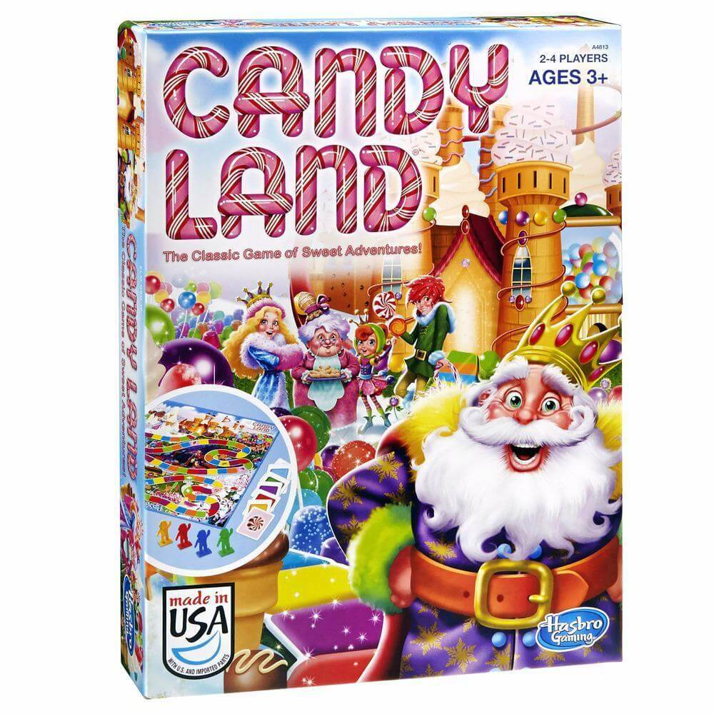 candy land box board games for 5 year olds