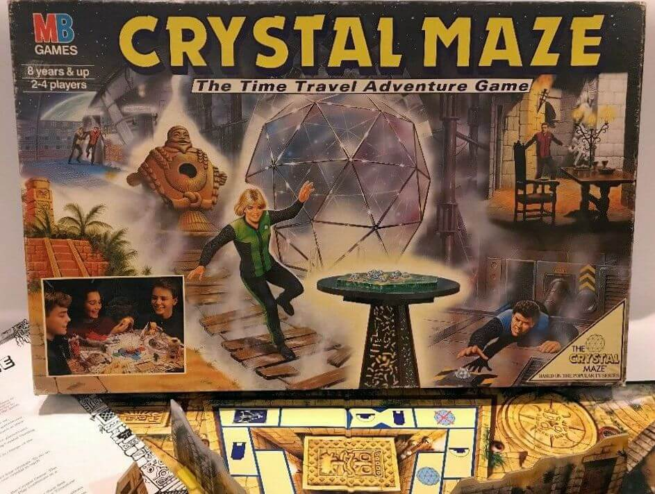 nostalgic board games crystal maze box