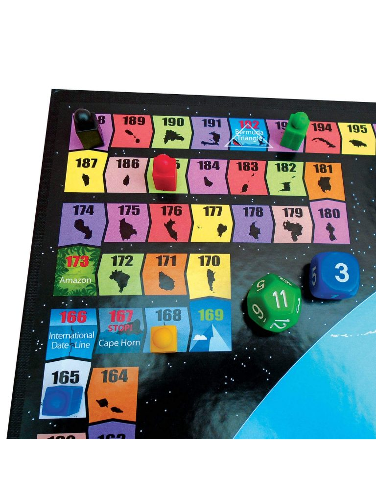 geography board games globe runner board