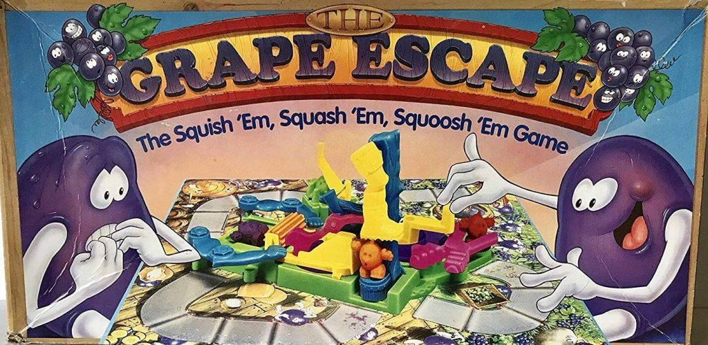 nostalgic board games grape escape
