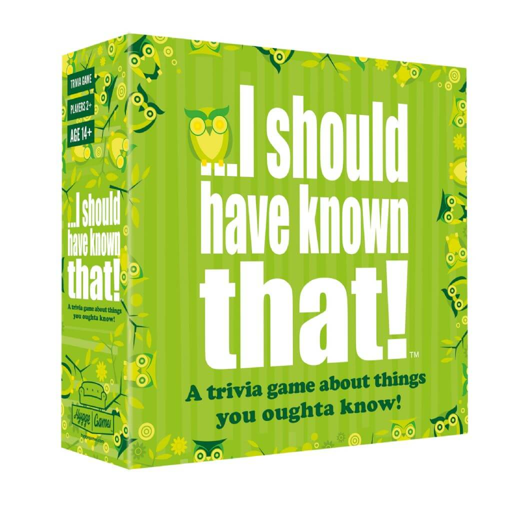I should have know that board game box 5 trivia board games