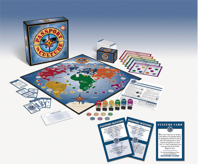 geography board games passport to culture box and board