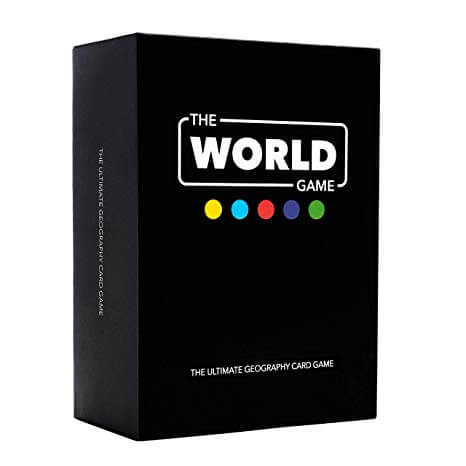 geography board games the world game box