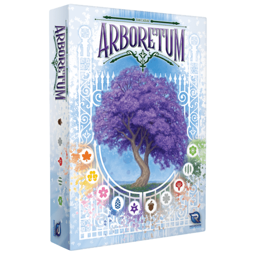 travel board games choices: arboretum box