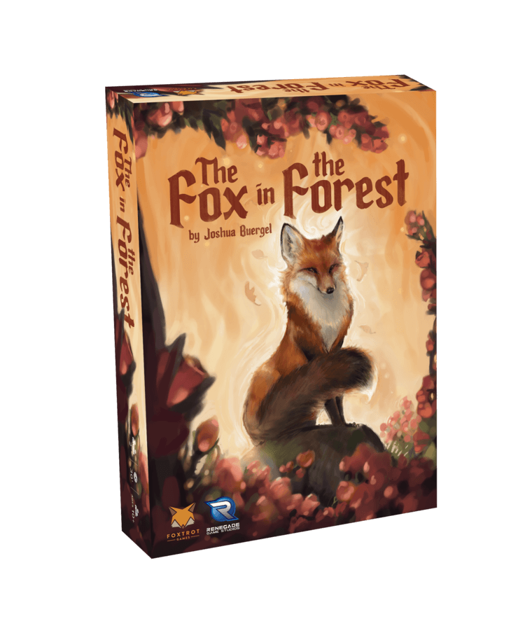travel board games choices: the fox in the forest box