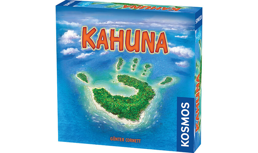 travel board games choices: kahuna box