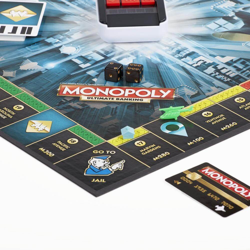 best monopoly editions : ultimate banking