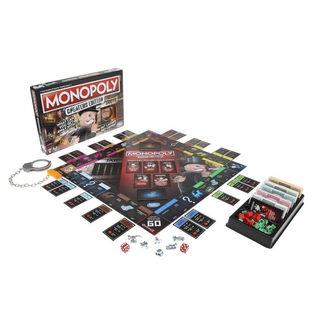 best monopoly editions: cheaters
