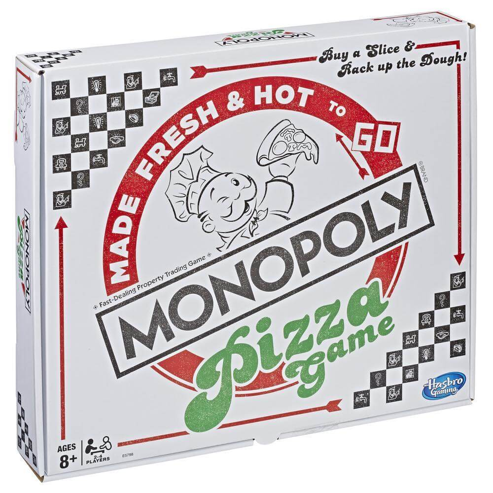 best monopoly editions: pizza